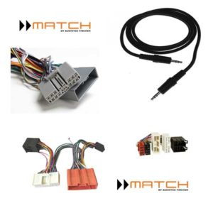 MATCH ja Audison adapterit