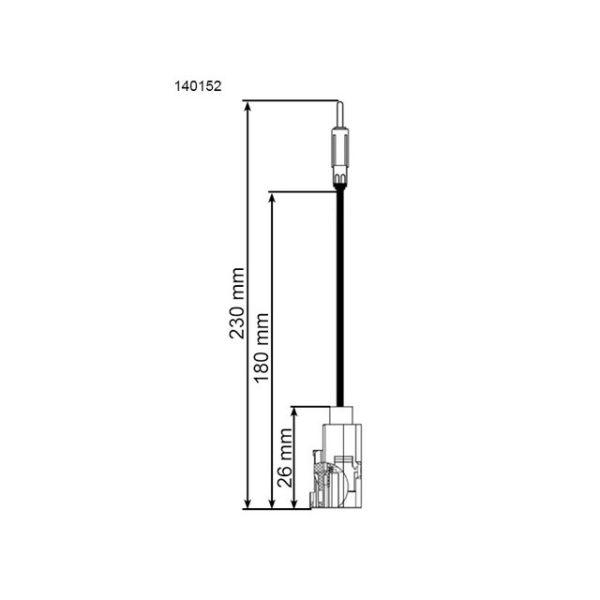 Antenniadapteri 140152