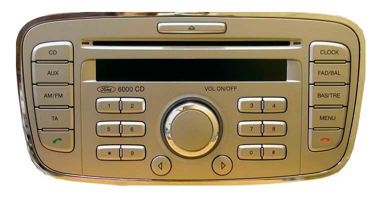 ford 600cd pyöreäreunainen soitin