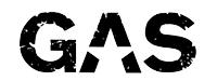 GAS car audio logo