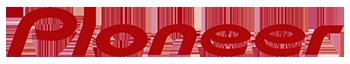 Pioneer autohifi-tuotteet tunnistat tästä logosta