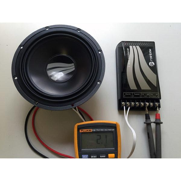 Rainbow SL-C6.2 PRO erillissarja impedanssi