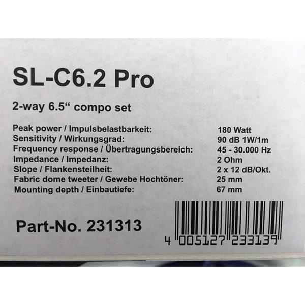 Rainbow SL-C6.2 PRO erillissarja info