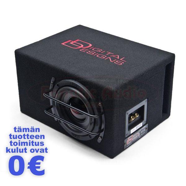 DD Audio LE-M06 valmiskoteloitu subwoofer