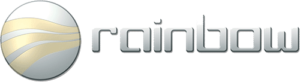 Tästä logosta tunnistat Rainbow autohifituotteet