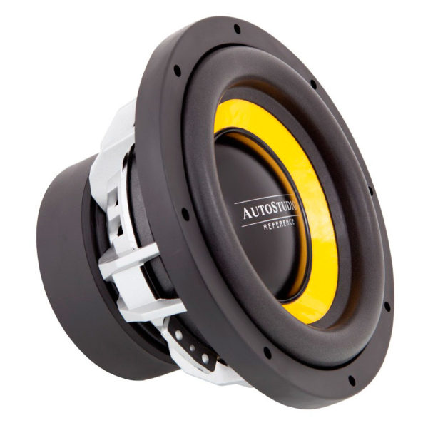 Autostudio AS-REF10D2 mk2 subwoofer sivulta