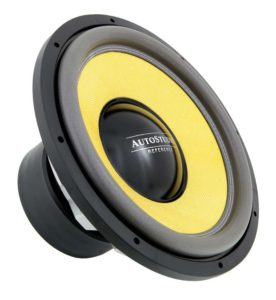 Autostudio AS-REF15D2 SPL mkII subwoofer