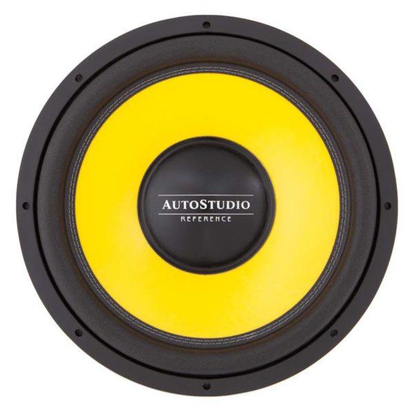 Autostudio REF-15D2 mk2 subwoofer edestä