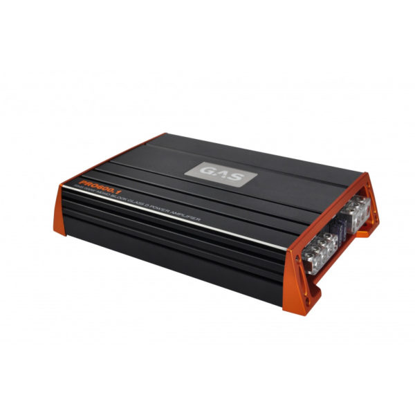 GAS Pro 600.1 monovahvistin sivusta