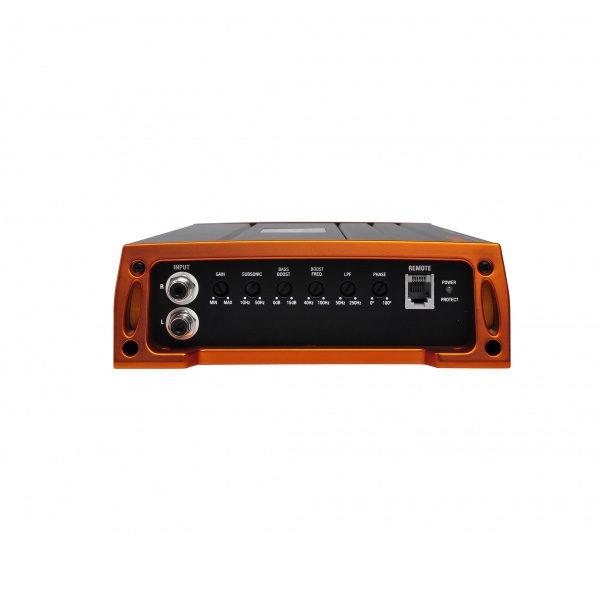 GAS Pro 600.1 monovahvistin liitännät