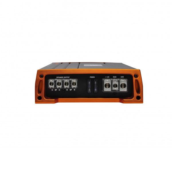 GAS Pro 600.1 monovahvistin liittimet