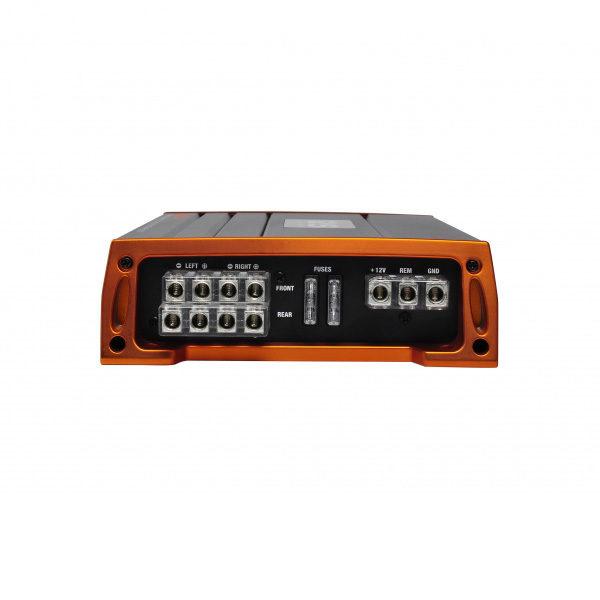 GAS Pro 80.4 vahvistin liittimet
