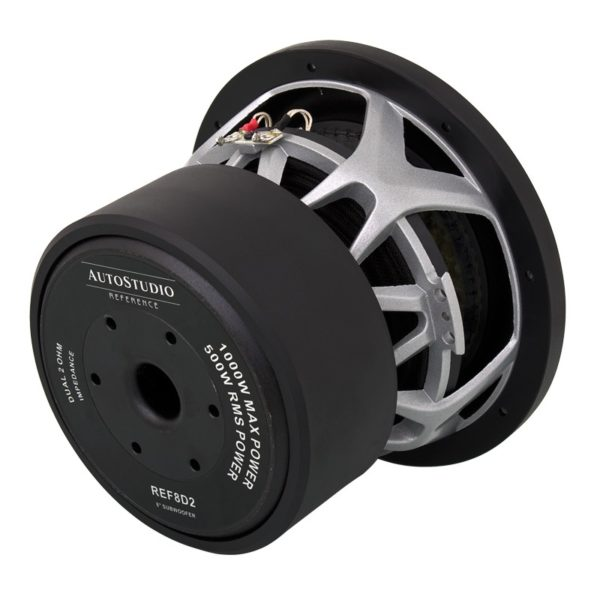 Autostudion AS-REF8D2 subwoofer takaa