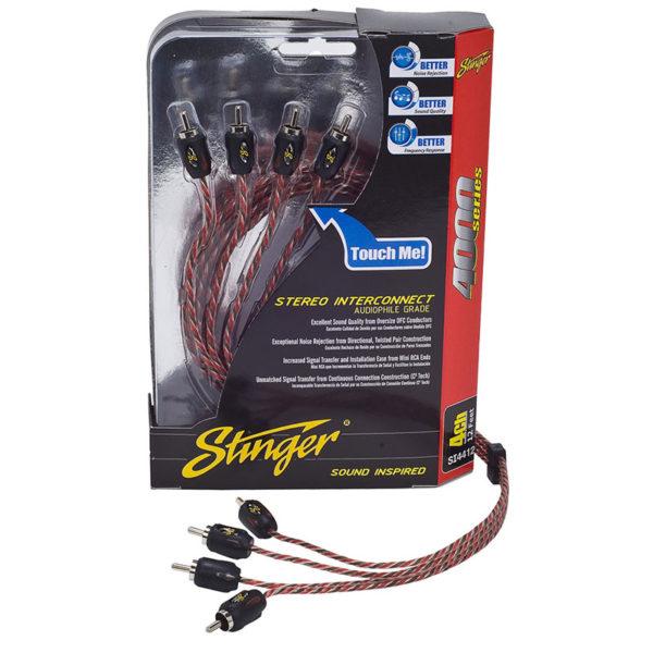 Stinger SI4417 RCA-kaapeli