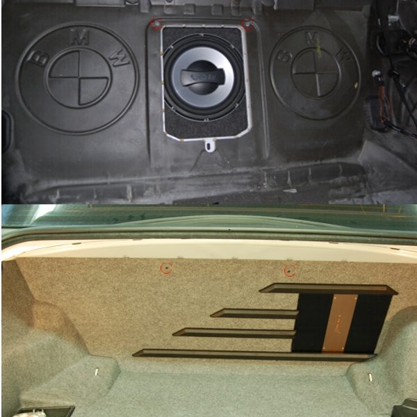 Bassokotelo BMW E46 Sedan 1998-2007