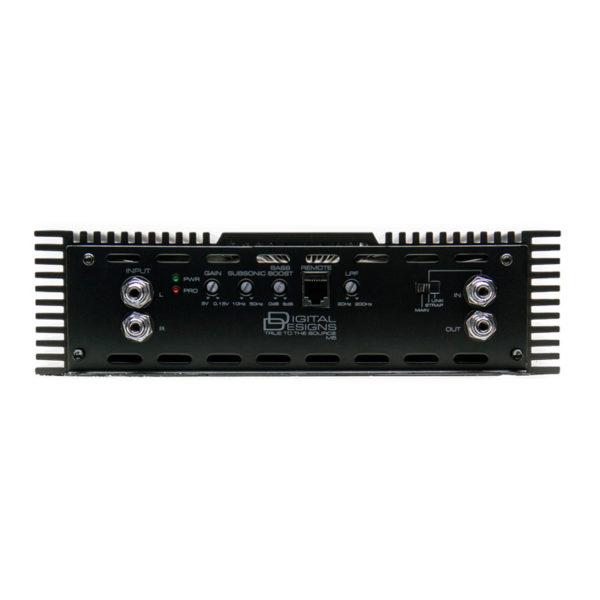 DD Audio M5 monovahvistin.
