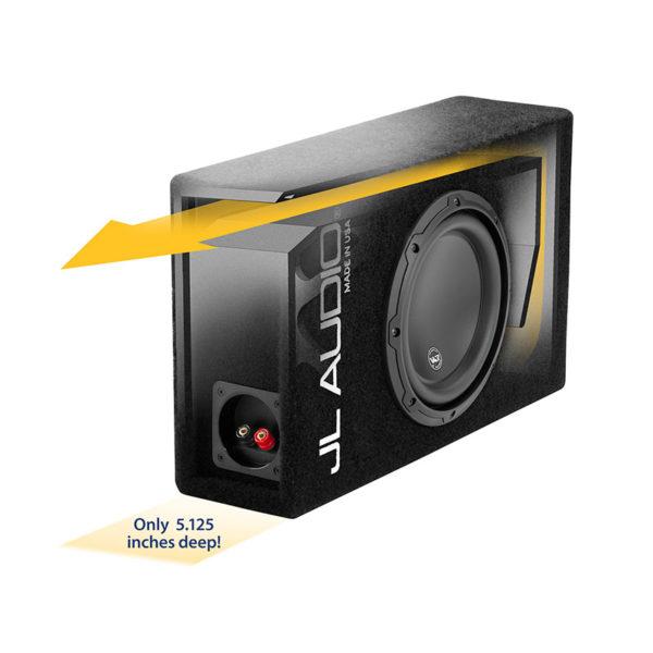 JL Audio CP108LG-W3v3 valmiskoteloitu 8″ subbari
