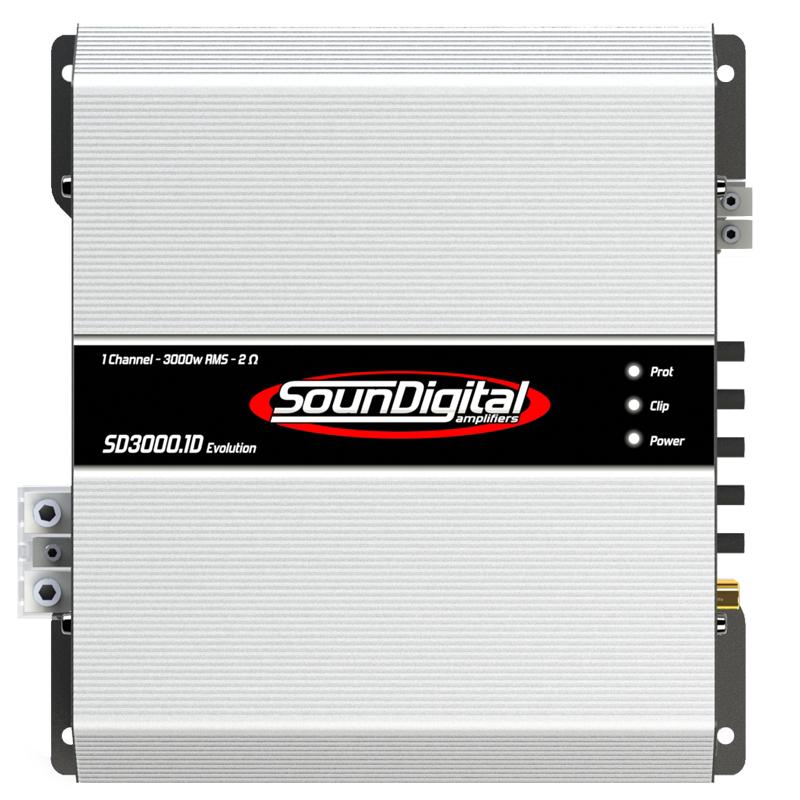 Soundigital SD3000 1D EVO 1 ohm - Fanatic Audio