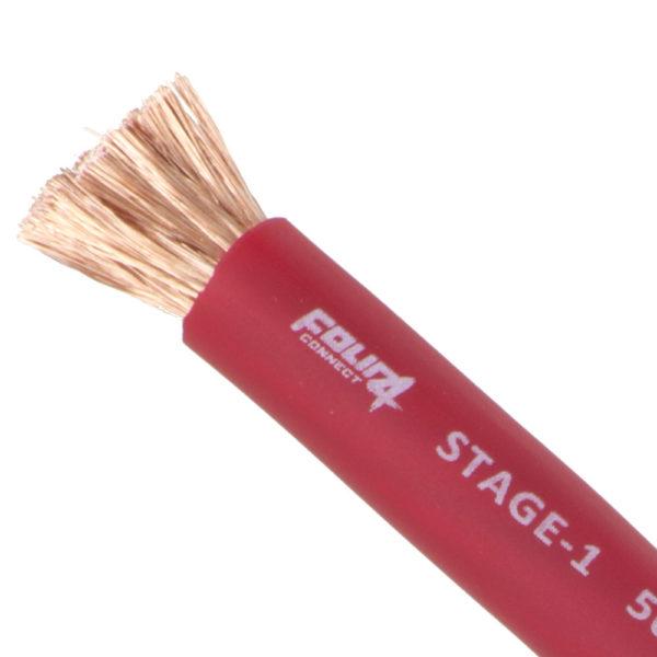 50 mm2 punainen virtakaapeli