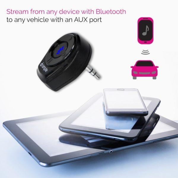 iSimple BluJax Bluetooth vastaanotin.