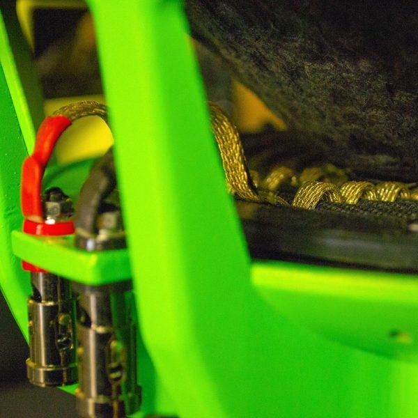 Ground Zero Hydro vihreä johtimet