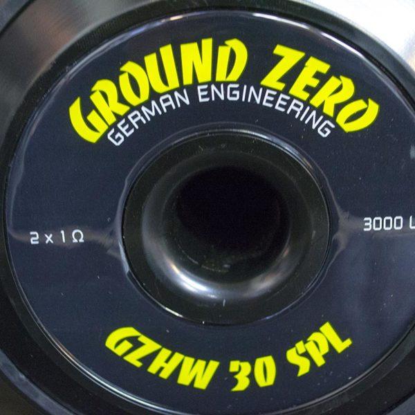 Ground Zero GZHW 30SPL magneetti