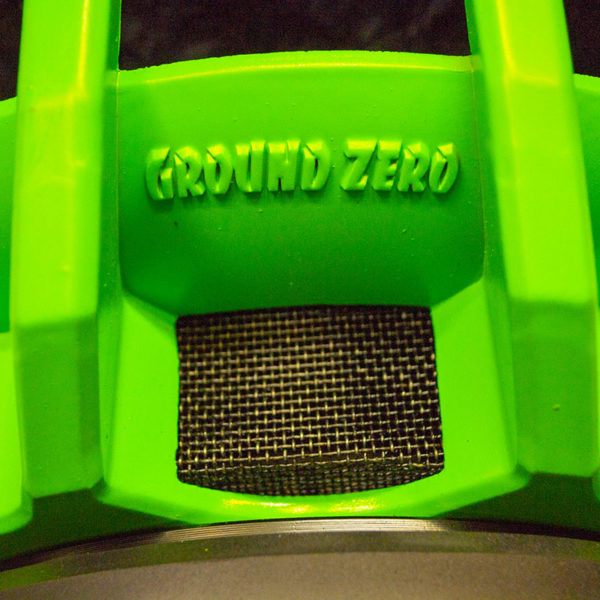 Ground Zero green logo rungossa