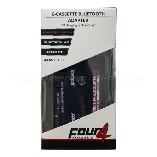 FOUR Mobile 4-Cassette BT pakkaus