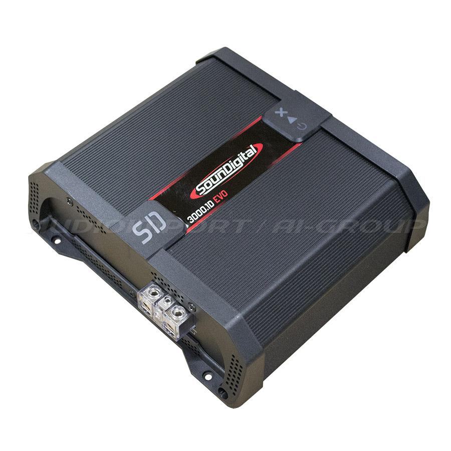 Soundigital SD3000.1 monovahvistin