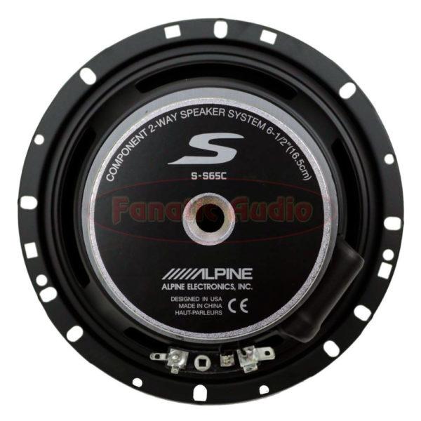 """Alpine S-S65C 6,5"""" erillissarja."""