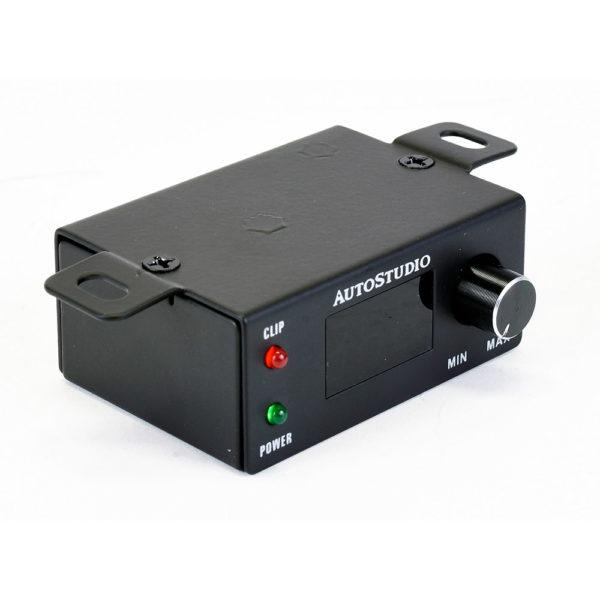 Autostudio AS-3000.1 monovahvistimen kaukosäätö