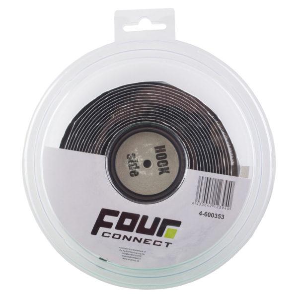 FOUR Connect 4-600353 Velcro-tarranauha koukkupuoli pakkaus