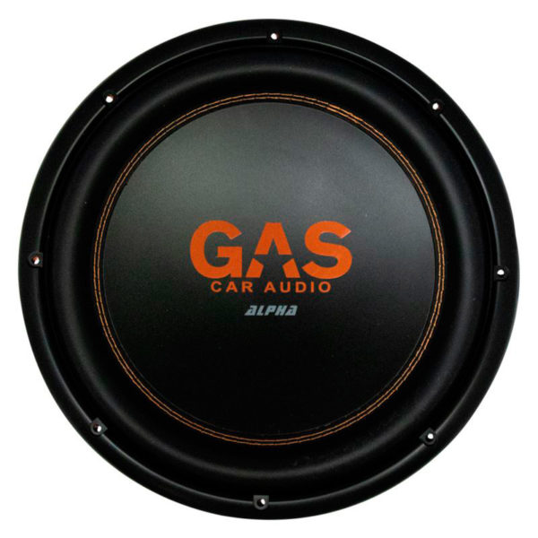 GAS Alpha 12 SLIM subwoofer edestä