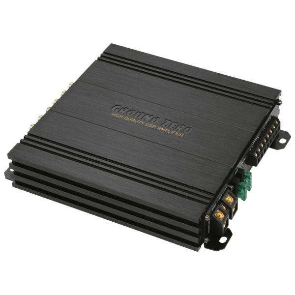 Ground Zero GZDSP 4.80AMP 4-kanavainen dsp vahvistin