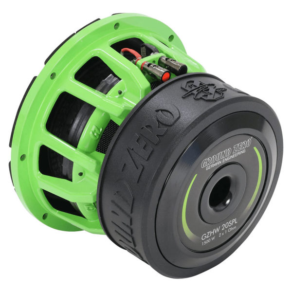 Ground Zero GZHW 20SPL GREEN subwoofer