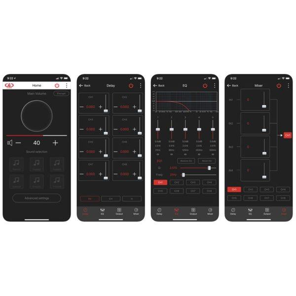 DD Audio DSI-2 DSP Apple sovellus