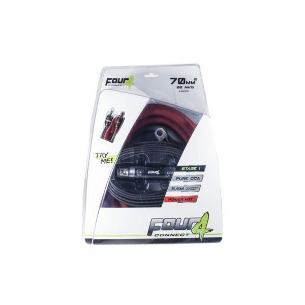 FOUR Connect 4-PKIT70 vahvistimen asennussarja 70 mm²