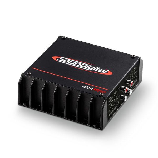 Soundigital SD400.4S EVO 4 kanavainen vahvistin sivusta