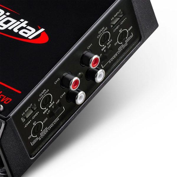 Soundigital SD400.4S EVO 4-kanavainen vahvistin