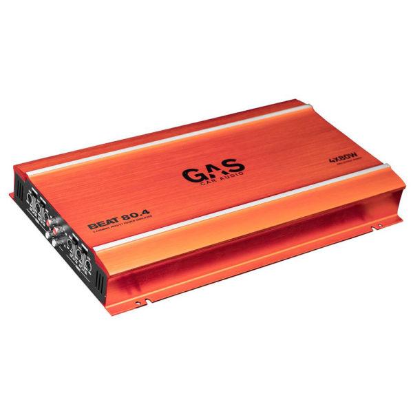 GAS Beat 80.4 4-kanavainen vahvistin edestä