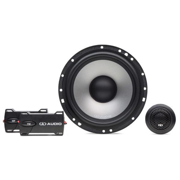 DD Audio DC6.5a erillissarja edestä.