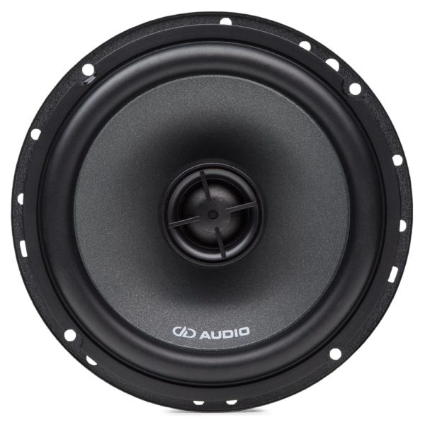 DD Audio DX6.5a 6.5″ koaksiaalikaiutin edestä.