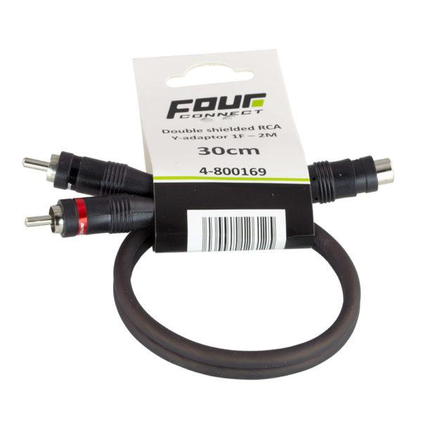 FOUR Connect 4-800169 RCA-Y 1F–2M y-haara