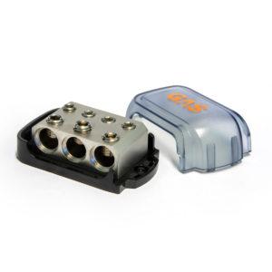 GAS 910GB34 jakoblokki liitännät