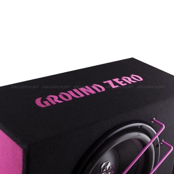 Ground Zero GZIB 3000XSPL Pink valmiskotelo edestä