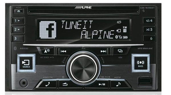 Alpine 2DIN soitin