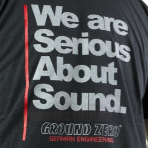 Ground Zero T-Paita Serious