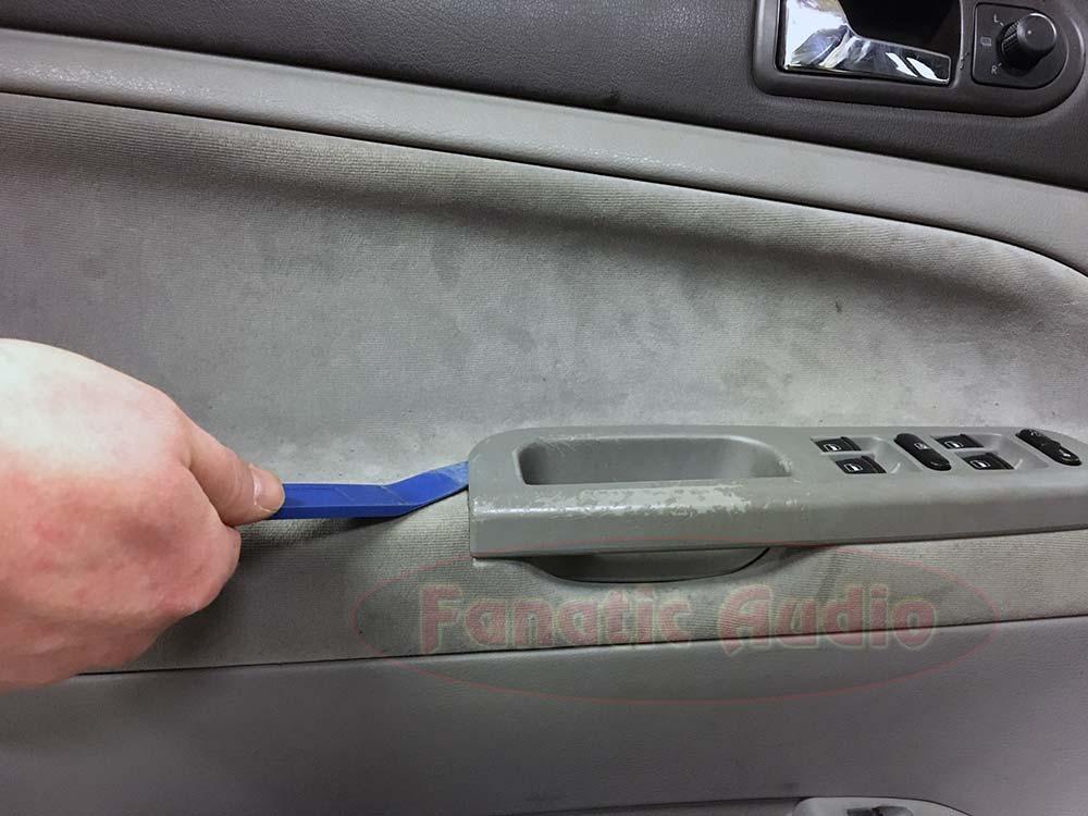 Kuljettajan oven purku 1