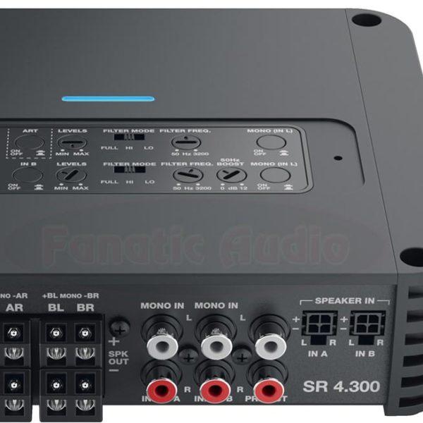 SR4.300 säädinpaneeli