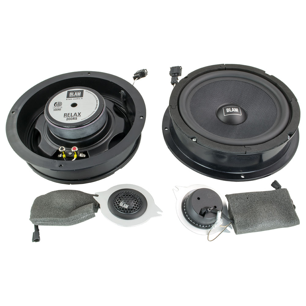 Audi A4 B8 Plug & Play kaiutinsarjat!